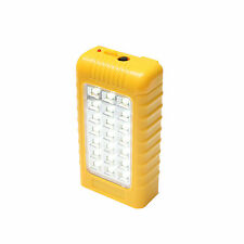 Emergency Light With Phone Charger Cum Power Bank USB Charging 28 SMD  (YELLOW)