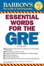 Essential Words for the GRE by Philip Geer (2007, Paperback)