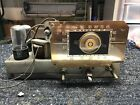 Antique Crosley Radio & Turntable Model No. 56-TP Chassis  For Parts or Repair