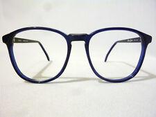 Regency By Tart Optical Vintage Unisex Eyeglass Frame SH3012 Navy Blue 56-17