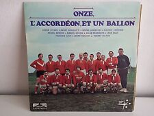 Onze l accordeon et un ballon LORENZONI LARCANGE THIERRY ROLAND Football LP30139