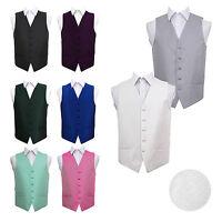 Highest Quality Greek Key Patterned Mens Wedding Waistcoat Gentlemen Tuxedo Vest