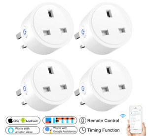 WiFi Smart Plug Alexa Switch Socket Remote Voice Control Outlet Google Home UK