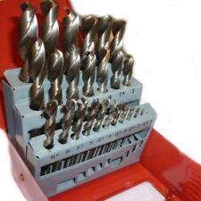 Neilsen Metric Drill Set HSS High Speed 1mm-13mm Index Box 25 Piece High 23T
