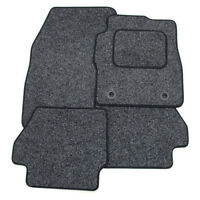Perfect Fit For Peugeot 508 11> - Anthracite Grey Car Mats with Black Trim