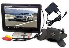 "MONITOR LCD 7"" TFT CON TELECOMANDO 12V 220V VIDEOSORVEGLIANZA +JACK 12V 2 METRI"