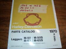 1965 HARLEY  AERMACCHI    M-50CC   CYLINDER BASE GASKET 16775-65P