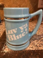 "Vintage Houston Oilers Luv Ya Blue! 5.5"" Stein Mug"