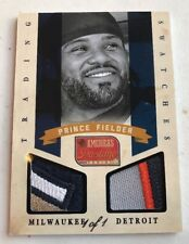 *1 of 1* 2013 PRINCE FIELDER - 2 X 3 Color Patches America's Pastime  1/1 SICK
