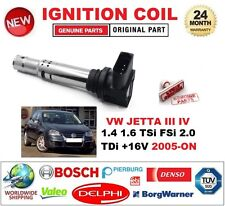 FOR VW JETTA III IV 1.4 1.6 TSi FSi 2.0 TDi +16V 2005-ON IGNITION COIL 4 PIN 12V