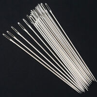 20pcs Sewing Needles Large Eye Hand Needle Embroidery Darning Tapestry 5cm 6cm-