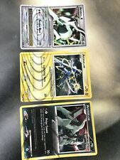 POKEMON: PLATINUM ARCEUS Set 6 Cards Including Lvl X Arceus All Mint Condition