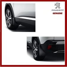 Genuine Peugeot 3008 SUV 2017 Onwards Front & Rear Mud Flaps / Guards