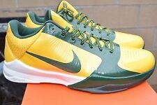 DS 2010 Nike Zoom Kobe 5 RICE HOME Yellow Green White Size 13