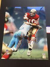 Joe Montana HOF 49ers 4x Super Bowl Signed Auto 16x20 PSA/DNA COA