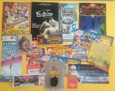lot flyers documents cirque circus zirkus circo clown divers pays n°2