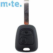 Complete Peugeot 2 Button Key Remote 307 Chip/Transponder/Electronics
