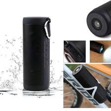 Portable Wireless Bluetooth Waterproof Outdoor Cycling Flashlight Speaker USB T2