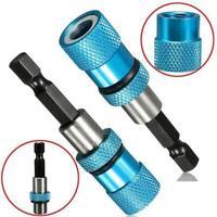 Adjustable Screw Depth Bit Holder 1/4'' Hex Driver Tip Tool Magnetic Home H V8Y6