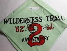 WILDERNESS TRAIL 2ND ANNIVERSARY '62 NECKERCHIEF  D514