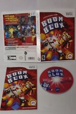 Wii Boom Blox Official Nintendo Game COMPLETE in Case with Instructions