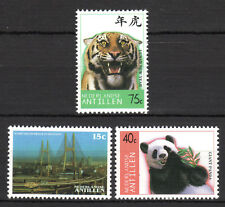 Dutch Antilles - 1997 Stamp expo Shanghai / Animals Mi. 937-39 MNH