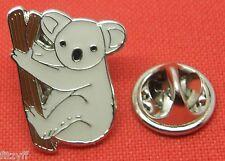 Koala Bear Lapel Hat Cap Tie Pin Badge Cute Cuddly Australia Animal Lovers Gift