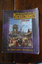 Principles of Macroeconomics by N. Gregory Mankiw (2001, Paperback, 2nd Edition)