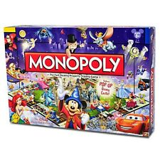 MONOPOLY BOARD GAME - DISNEY THEME PARK EDITION III - AUTHENTIC DISNEY - NEW