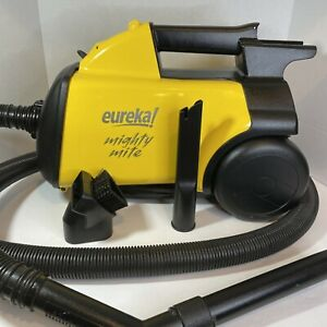 3670 Mighty Mite Corded Canister Vacuum Cleaner Yellow — Tested