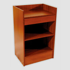 """Cherry 24""""L Register Counter 24""""L X 38""""H X 18""""D One Drawer And Shelf"""