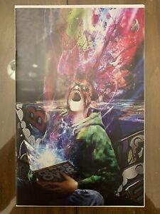 Image CROSSOVER #1 Hive Comics John Gallagher Virgin Variant. In Hand! NM.