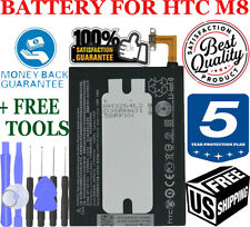 OEM HTC One M8 Battery 2600mAh 3.8V Internal B0P6B100 9.88Whr Li-ion original