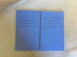 2x New Small Excercise Notebook Spelling Vocabulary Book 4 Inches X 6 Inches