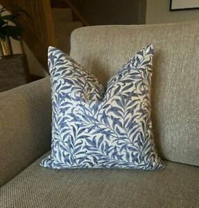 """Willow Bough Blue, William Morris 12"""" Cushion Cover"""