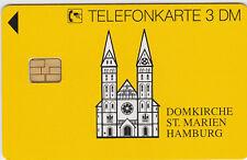 TK TELEFONKARTE 1994 Dom St. Marien Hamburg O 3003 12.94 5000 DTme ungenutzt