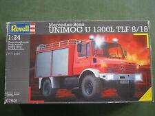 modellbausätze 1:24 Revell 07501 MB. Unimog U1300 TLF 8/18
