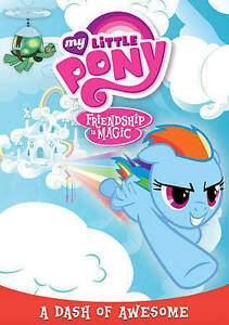 DVD Movie My Little Pony Cartoon - Friendship Is Magic - A Dash of Awesome SALE