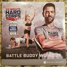 Beachbody 22 Minute Hard Corps Battle Buddy Workout Bonus Dvd New