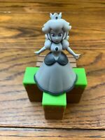 JAKKS Princess Peach Figure RARE B&W Variant Toys R Us Exclusive