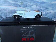 1/43 Rio (Italy) 1930 Alfa Romeo mille miglia # 4202