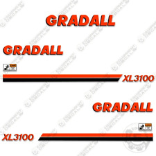 Gradall XL3100 Decal Kit Excavator Decals Reproduction Stickers (XL 3100)