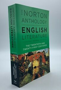 The Norton Anthology English Literature 20th & 21st Centuries Tenth Edition