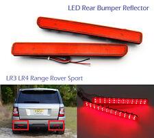 Red Lens LED for Range Rover LR3/4 Sport Bumper Reflector Tail Brake Stop Light