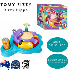 Tomy Fizzy Dizzy Hippo Game Kids Children Funny Party Toy Family Fun Play New