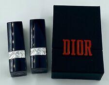 Dior Lipstick 999 999 mate SET 2X 1,5 g 0.05OZ IN CASE VIP GIFT MINIATURE