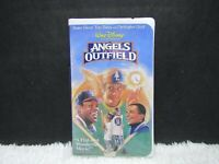 1995 Disney's Angels In The Outfield With Danny Glover, Clamshell Case, VHS Tape