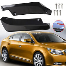 Black Universal Car Side Skirts Shovel Rocker Splitters Protector Fits Perfectly