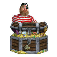 Party Supplies Birthday Boys Pirate Treasure Chest Photo Prop Standup