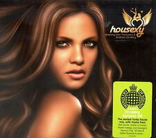 Ministry Of Sound Housexy 2-disc CD NEW Alan Thomspon Graham Cordery